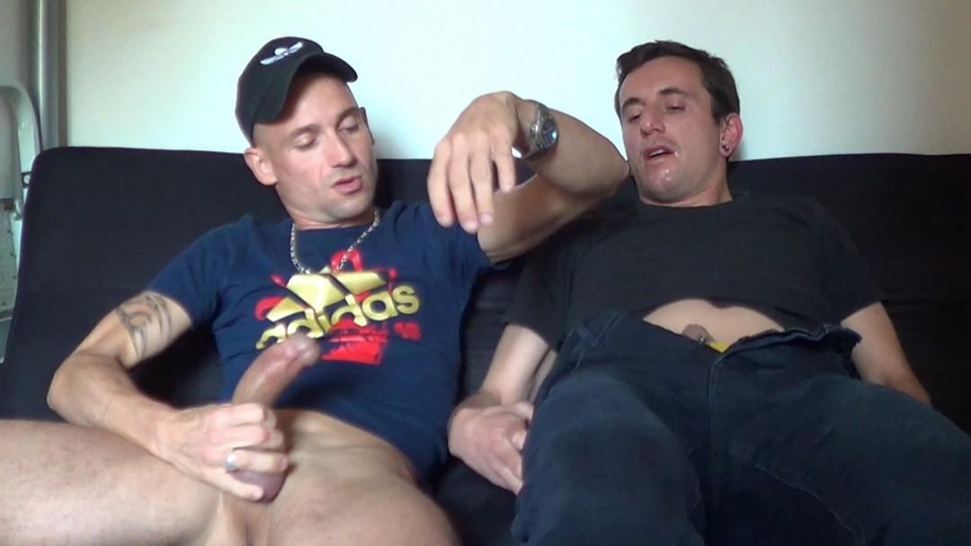 Jordan DAWSON se tape un beau bisexuel de ROUEN