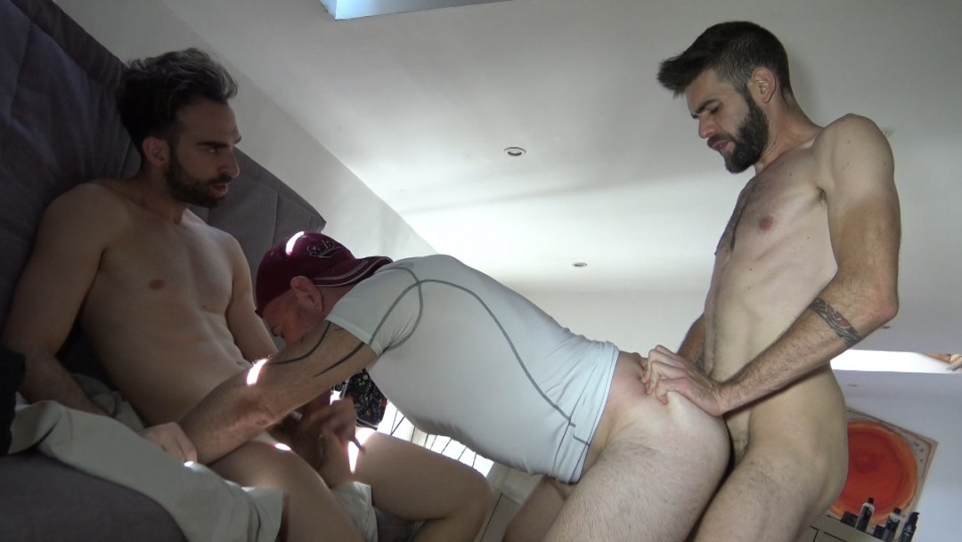 JEss fucked by Albert CRUSH and Axel MAX