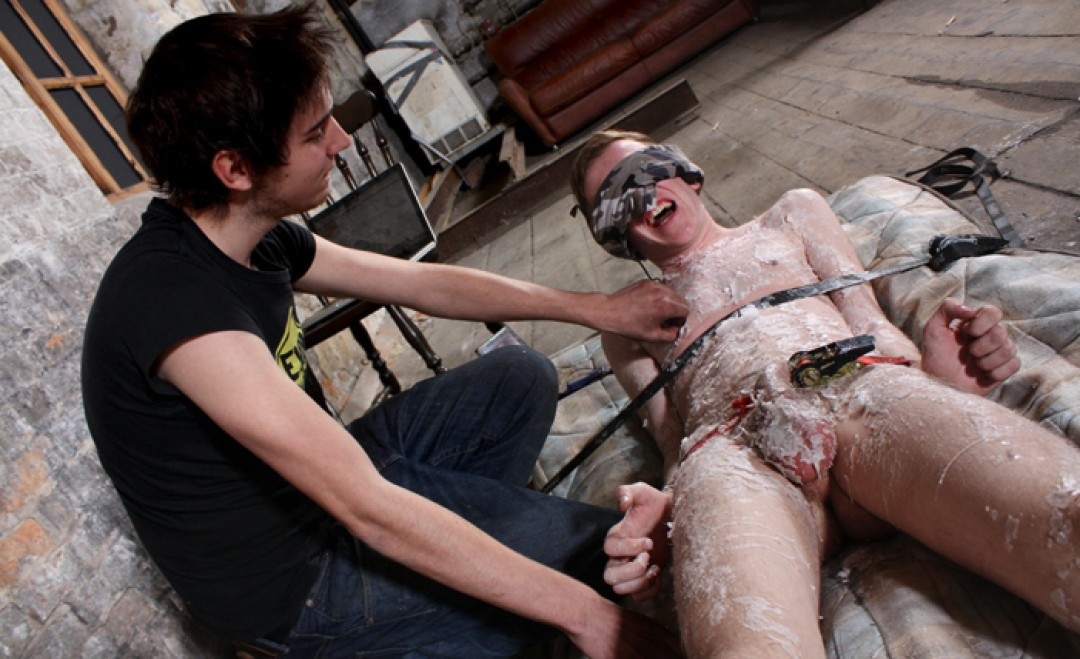 Twink Waxed and Wanked!