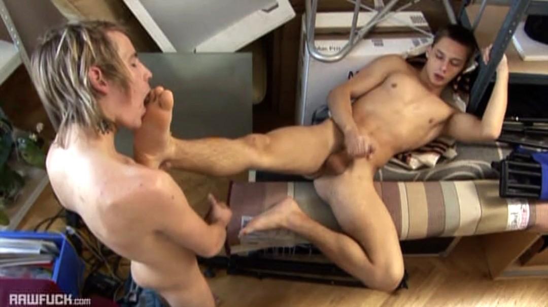 Foot Fetish Twink Mates Bare Fun