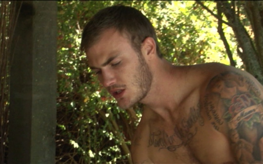 Christian Wilde in the ass: HOT!
