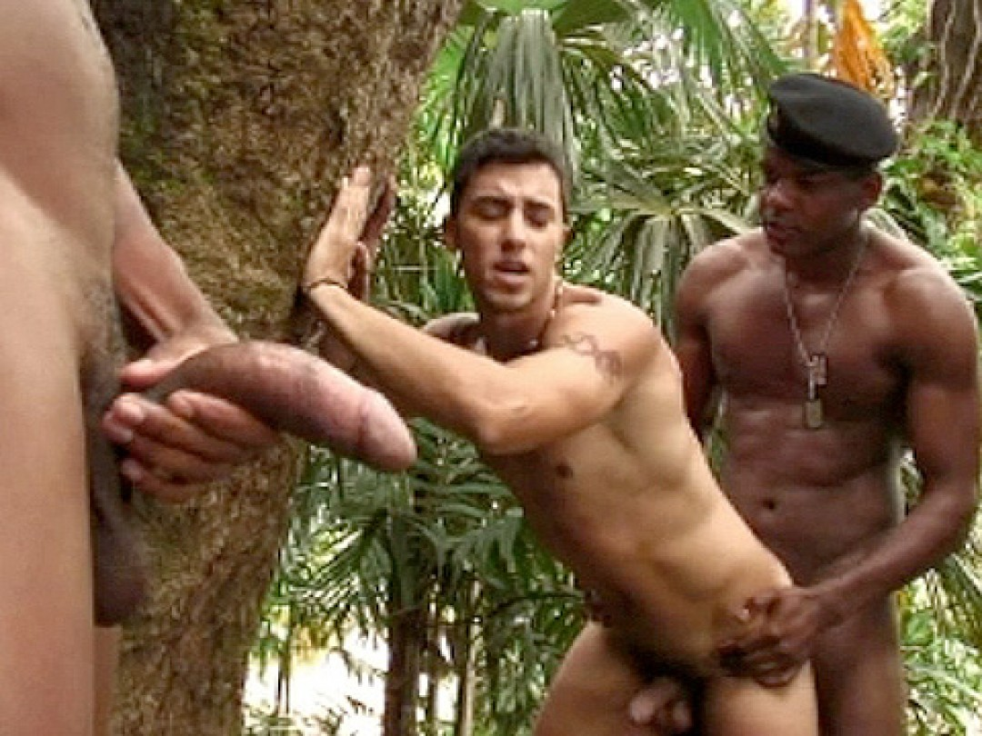 A GIANT BLACK COCK FOR TOMMY LIMA