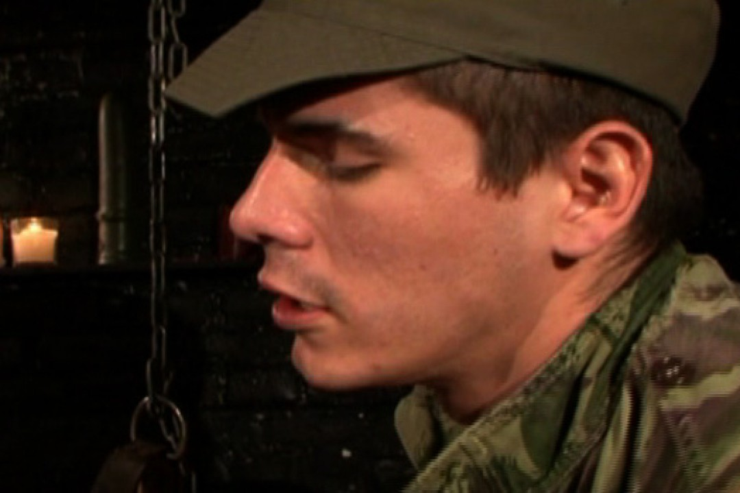 Young army recruit learns a lesson