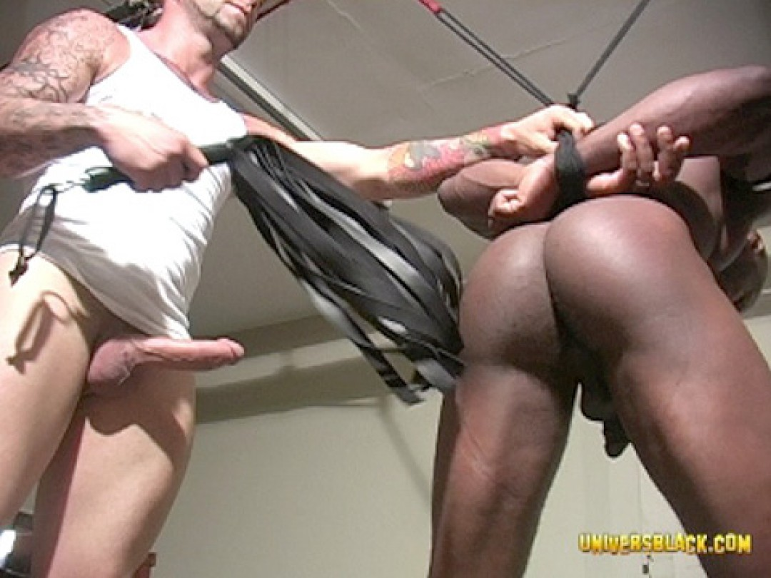 BLACK CHAUFFEUR TIED UP AND FUCKED