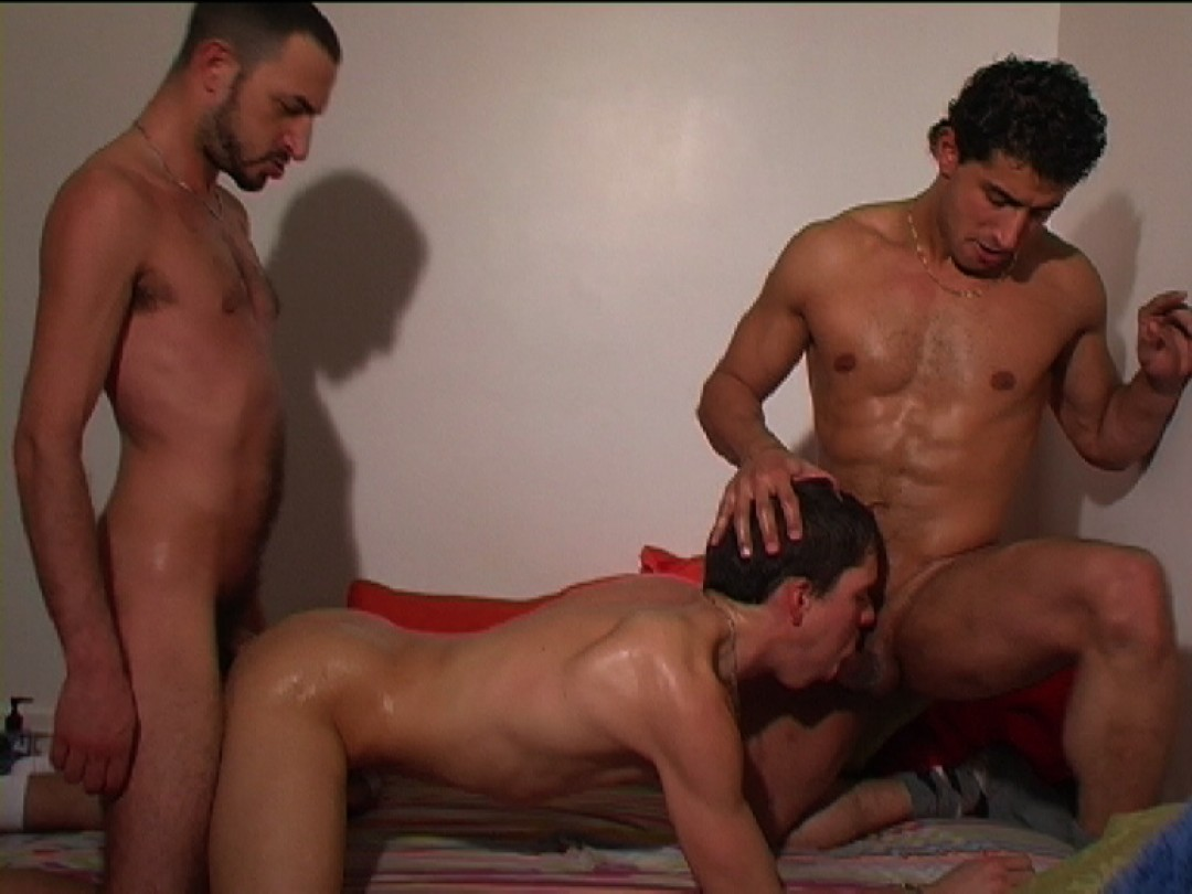 Big arab dick and strong french cock for cute little faggot