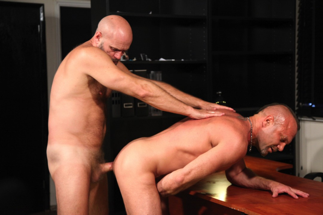 Gay daddies love the manly and raw way