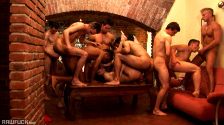 Raw gay twink orgy for muscular boys only