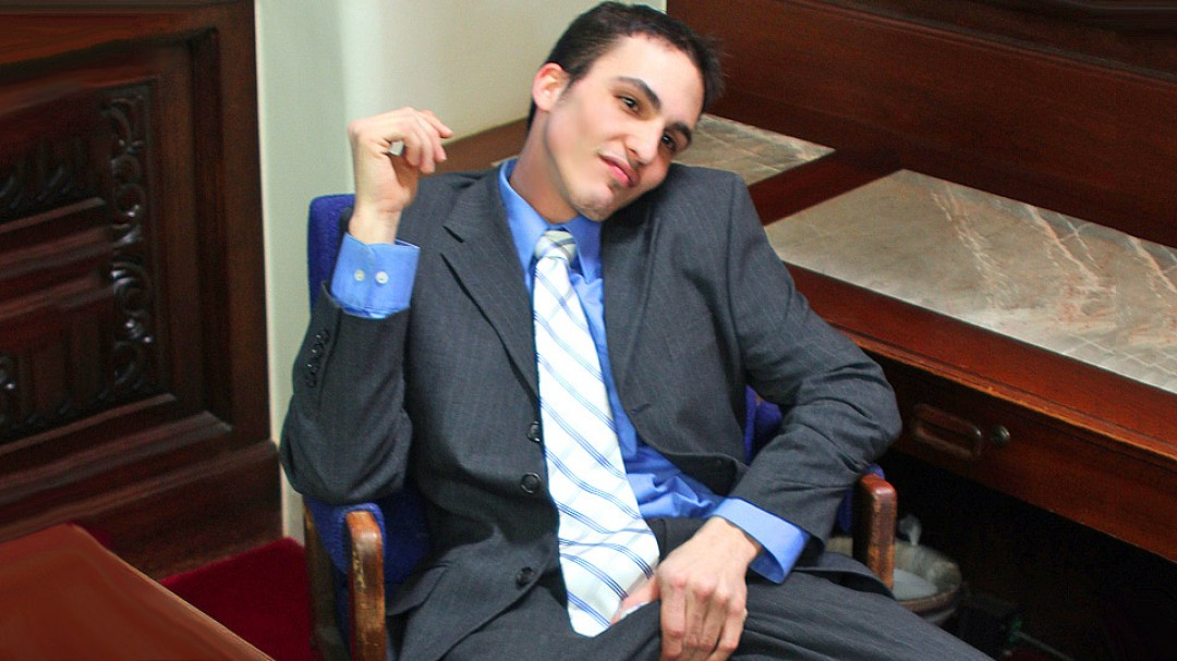 My gay boss 03 - Slacking off and jacking off