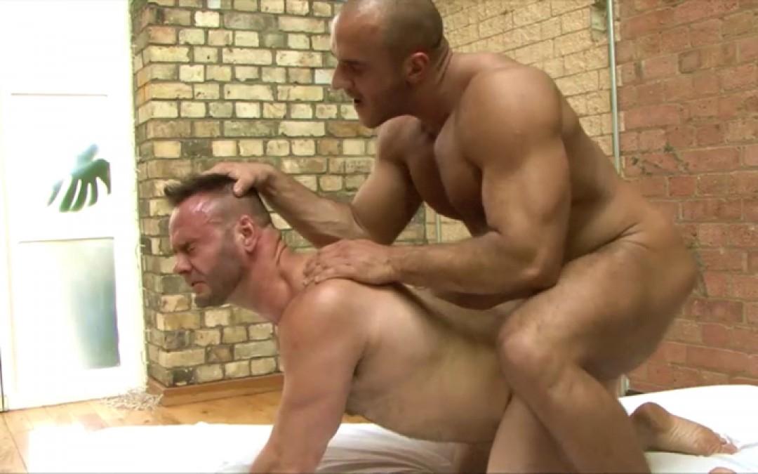 Gay Muscle Hard Fuck