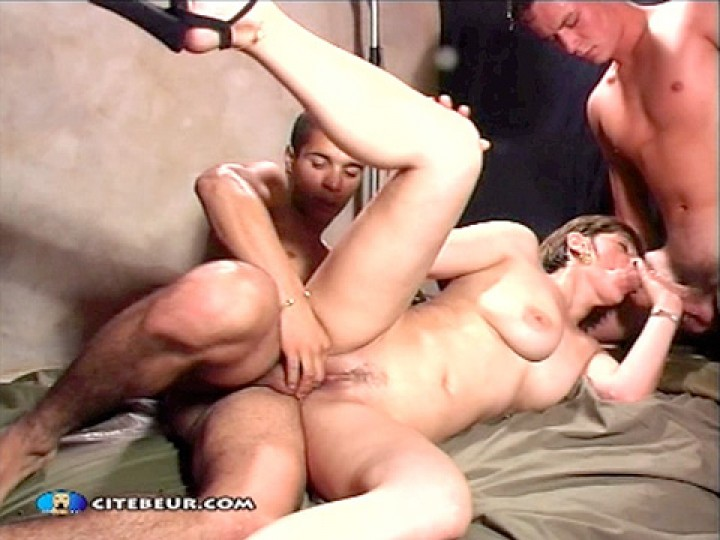 TWO BOYS SHARE A GIRL