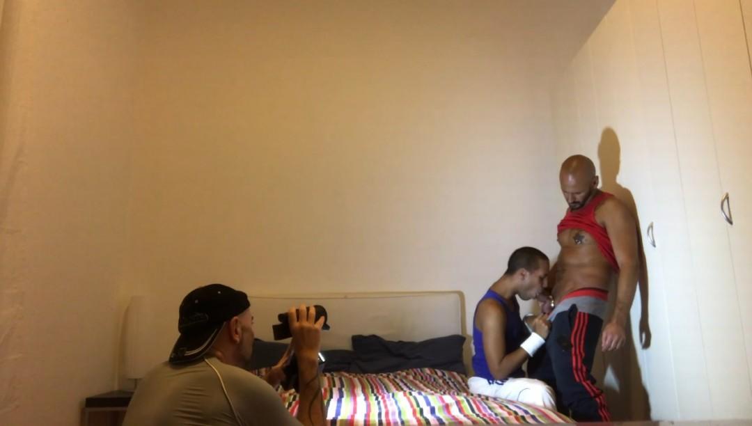 Webcam Porn shoot ANDRE DIAZ baisé par Nicola ANTONIo
