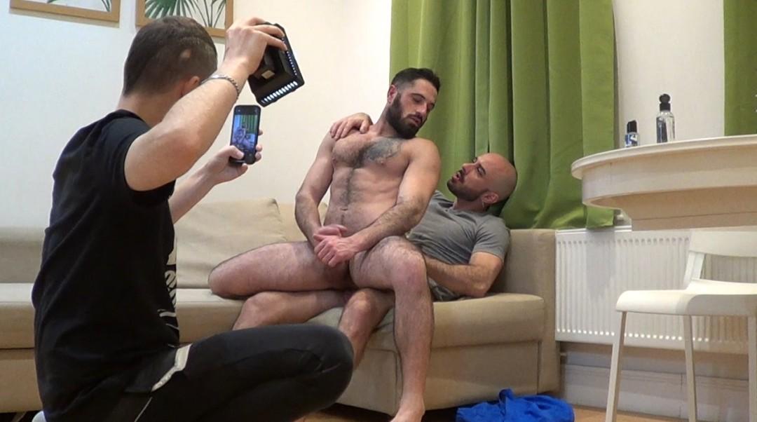 Webcam Backstage porn Bairon HELL fucked by Nando FERNANDEZ