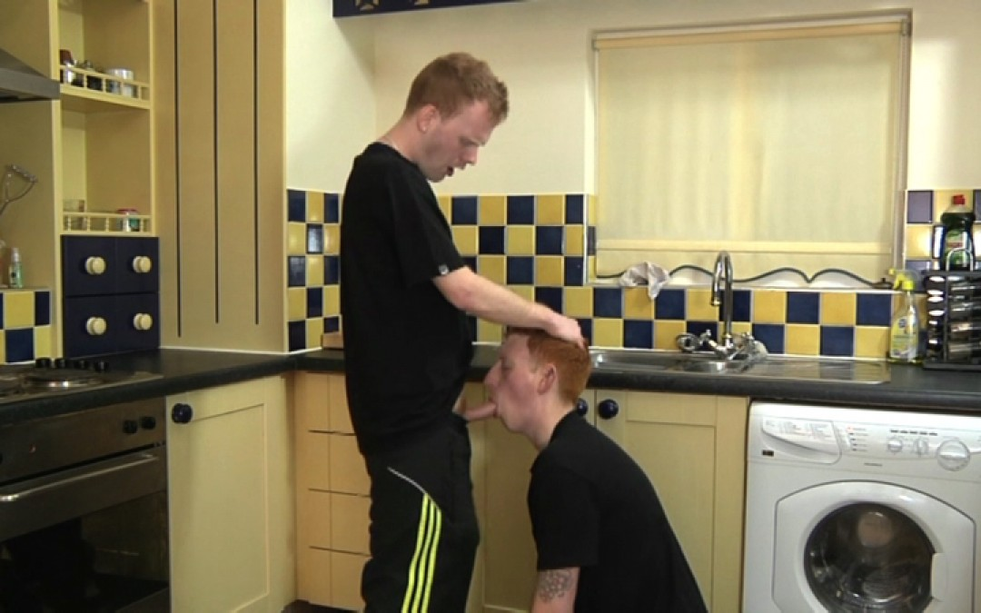Ginger Bitch Boy Learns His Lesson