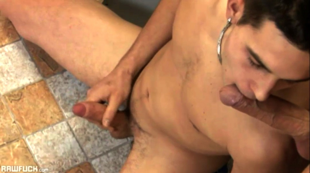 Jack Bloom's Bare Anal In Public Bathroom