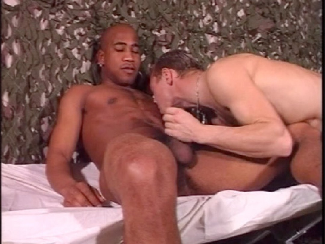 BLACK ARMY COCK READY TO SHOOT