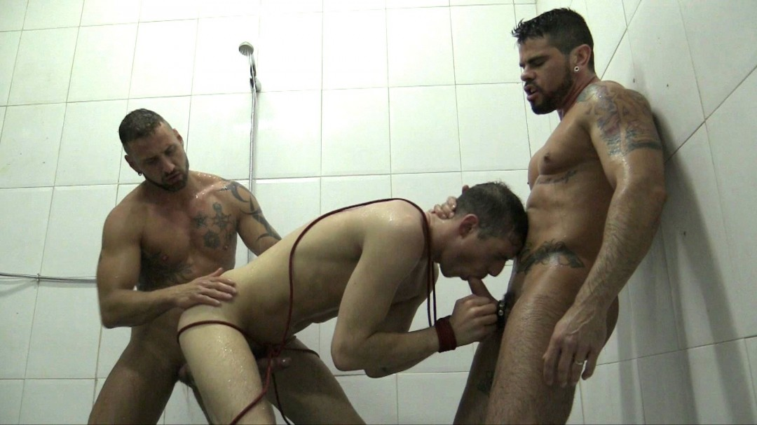 DOMINATED IN THE SHOWER 2