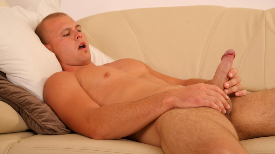 Happy alone with my big dick