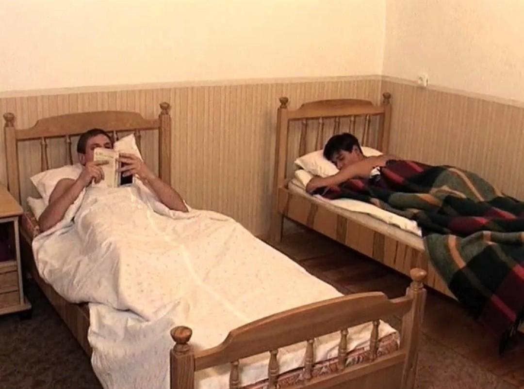 Three naughty boys in a hostel