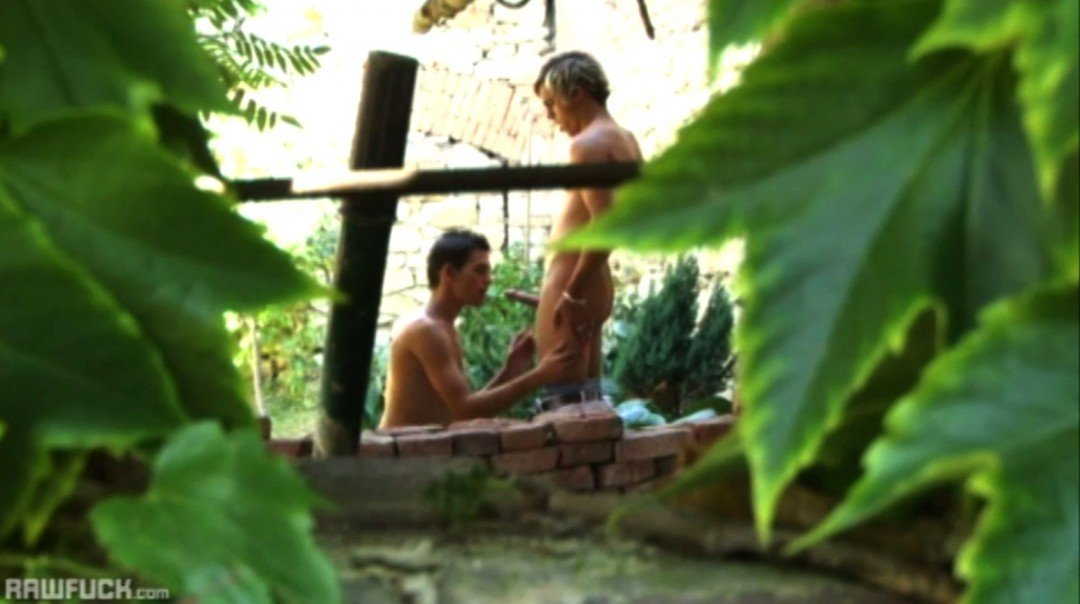 Young boys in raw gay sex