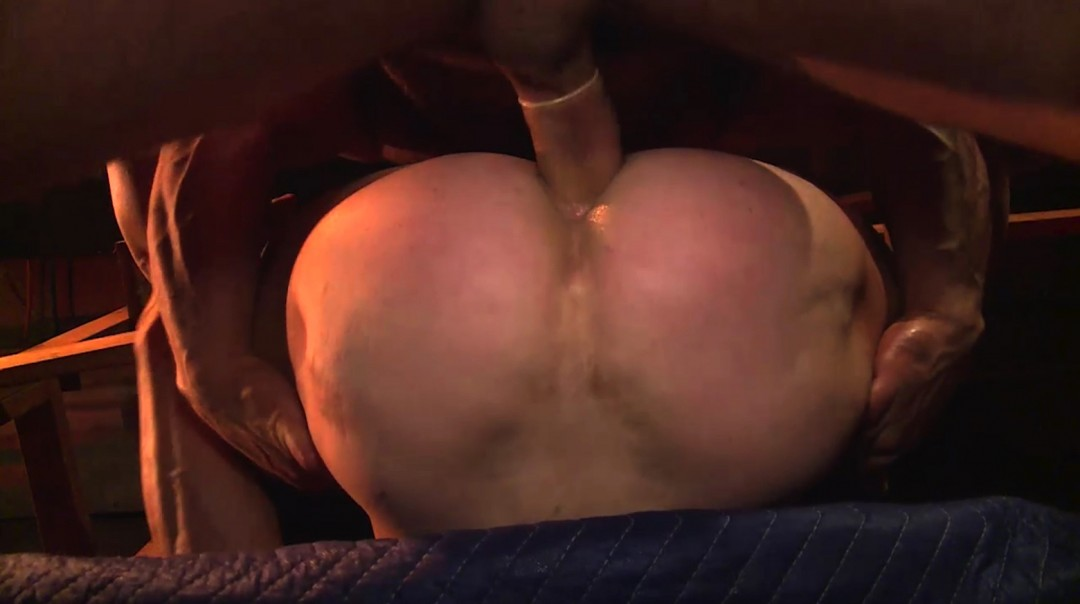 Filled with cocks in the sauna