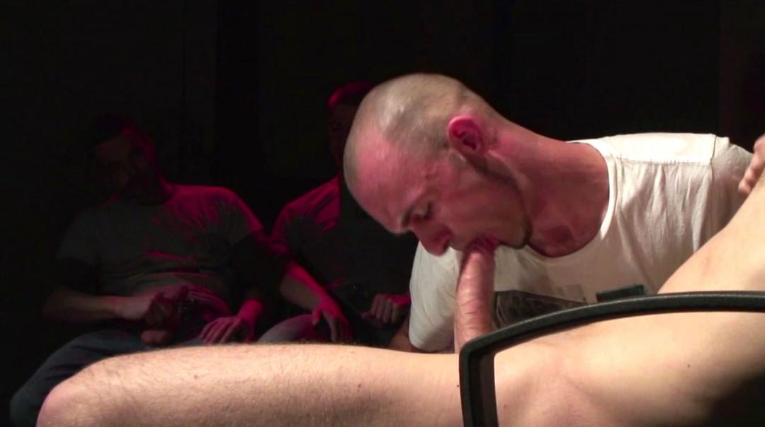 3 gay slaves worship Peto Coast's gay big dick