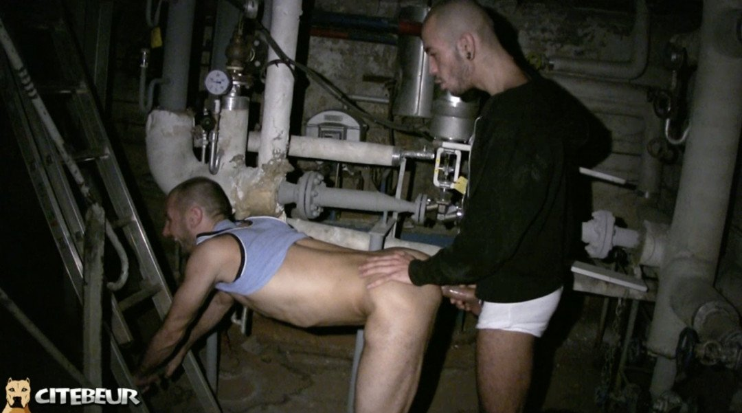 Butch cock-sucer for Med