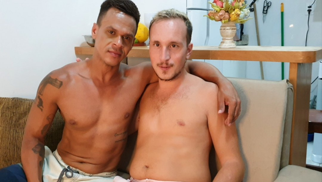 Sextape of Pedro LUCAS and Maxence ANGEL