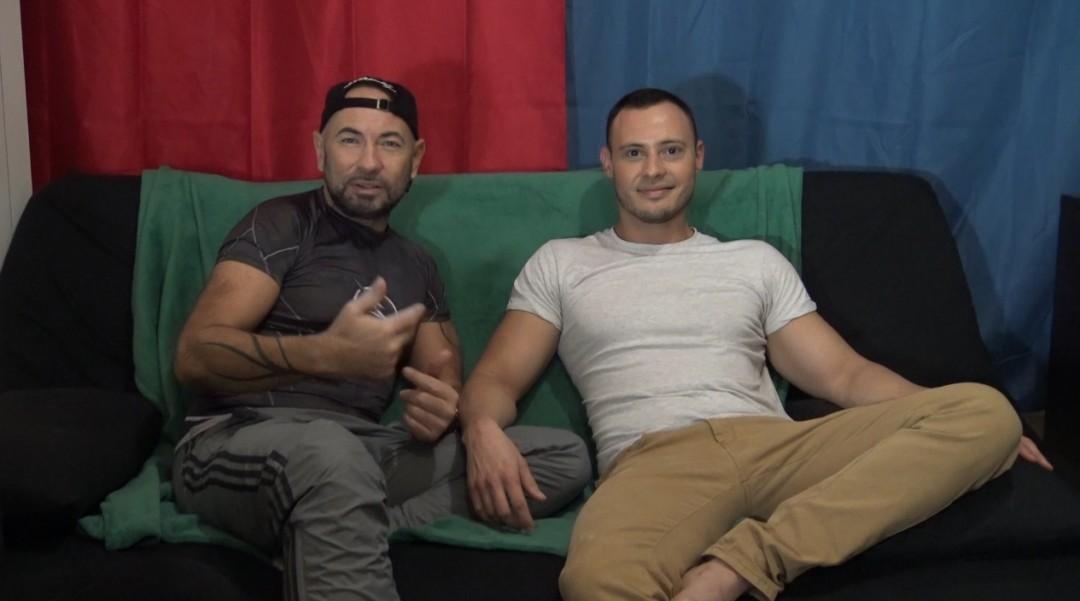 Hugo TARA fucked barebakc by Alexit TIOLI for casting