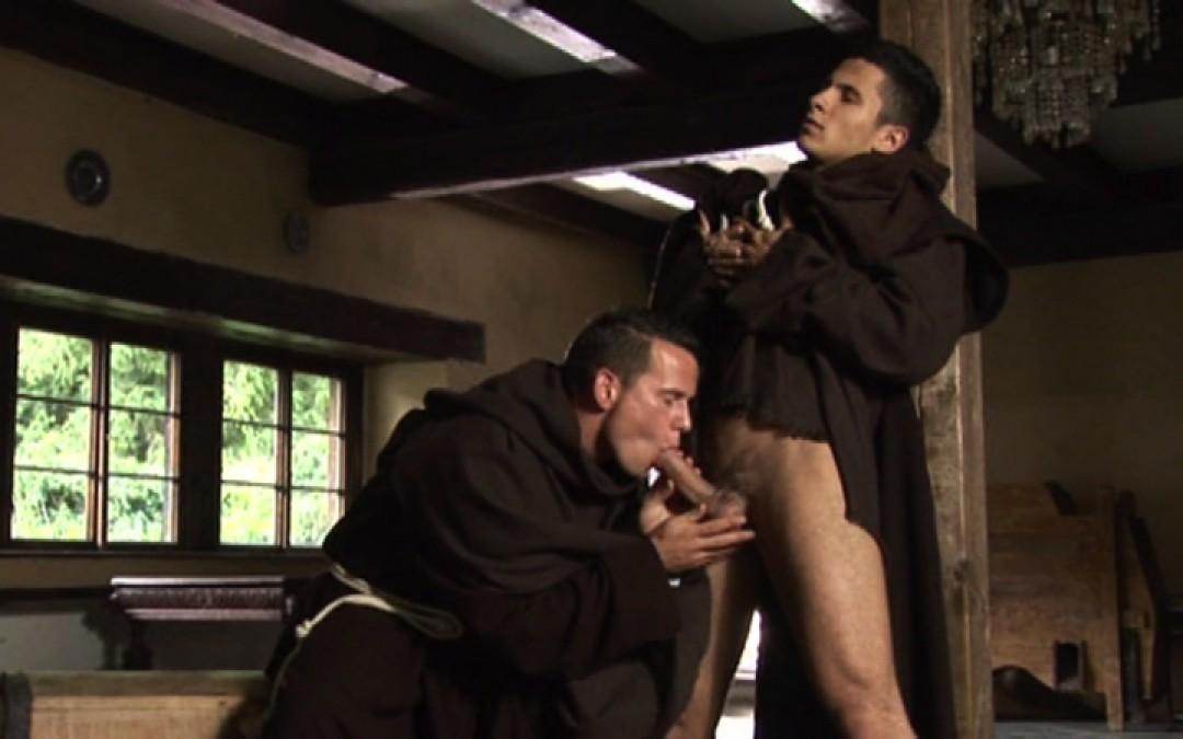 Beautiful monks