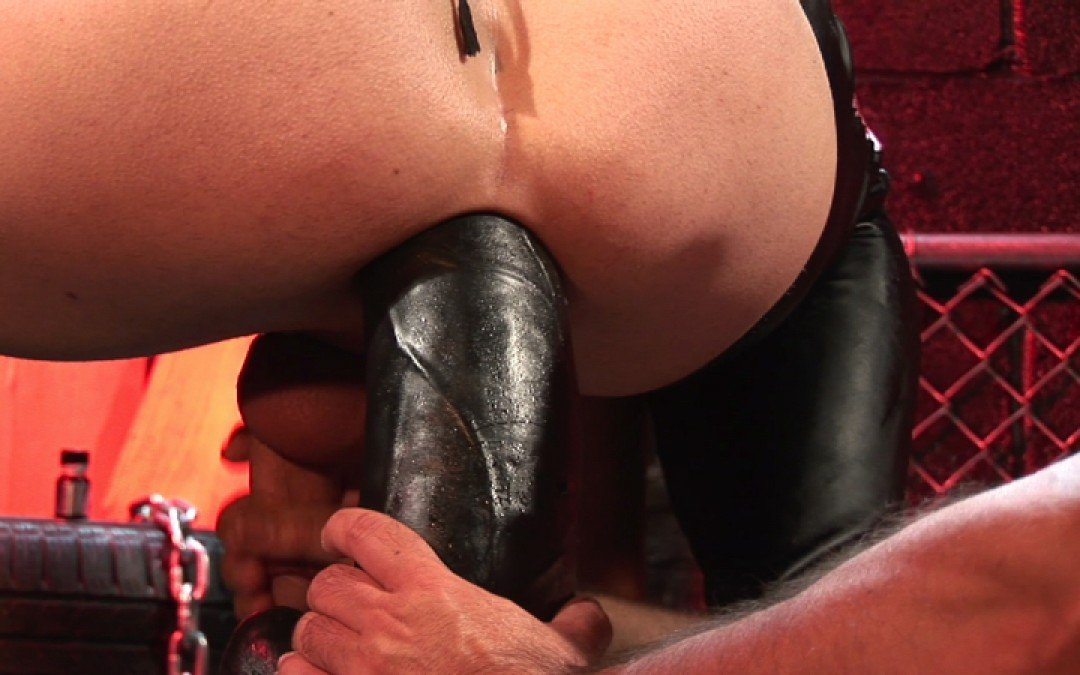 Nothing too big for my hole