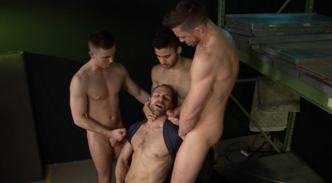 Misha Dante in delicious threesome