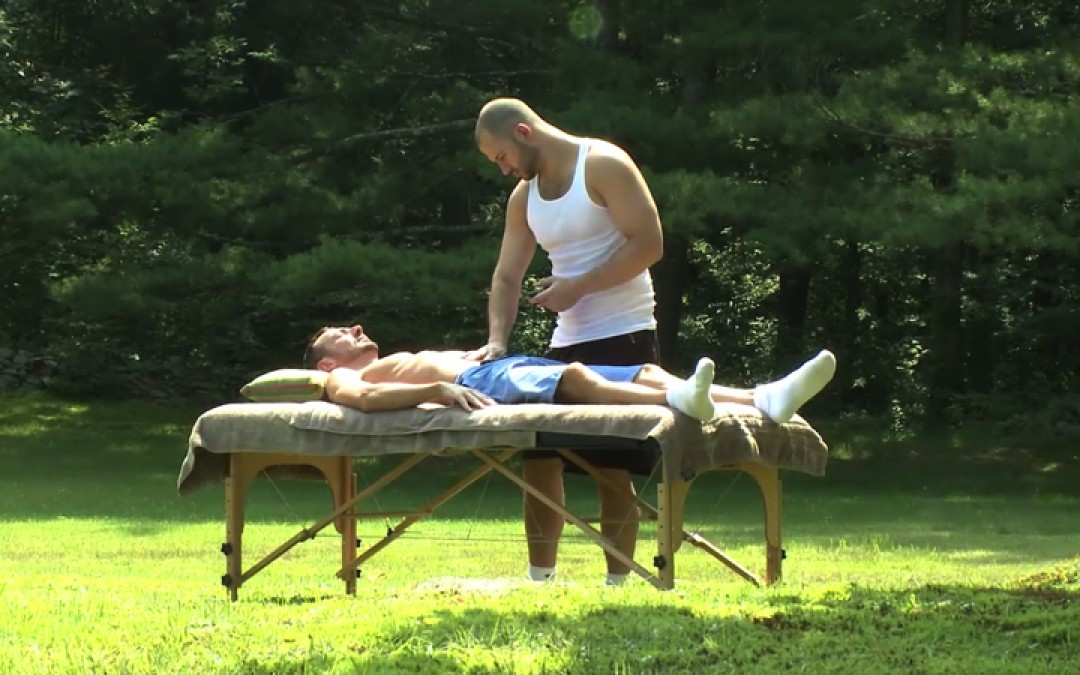 Open air sexual massage