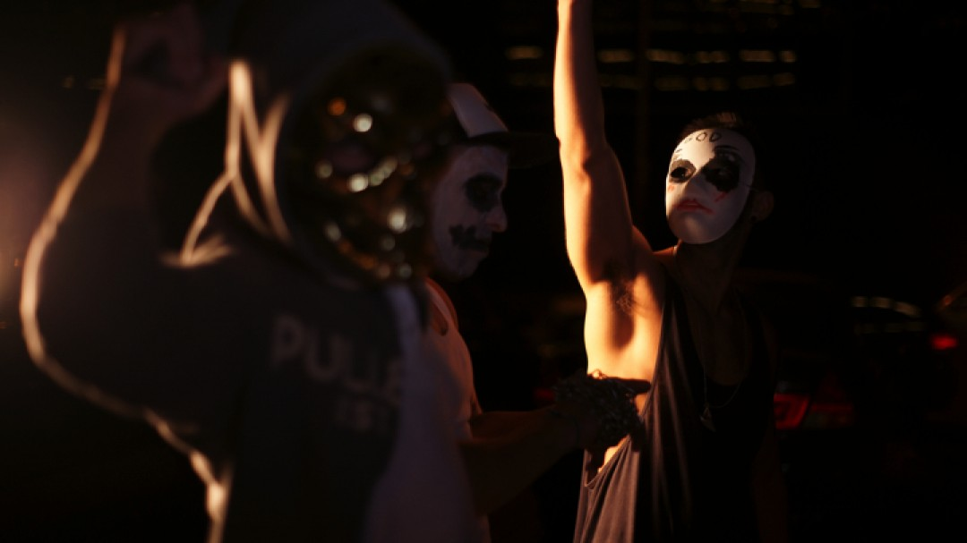 THE PURGE: A GAY PORN PARODY CHAPTER 2