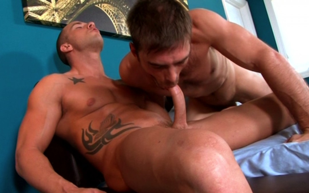 A soldier seated on my big cock
