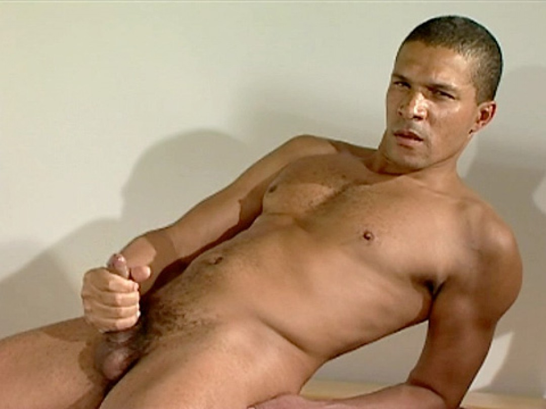 Hairless macho arab man
