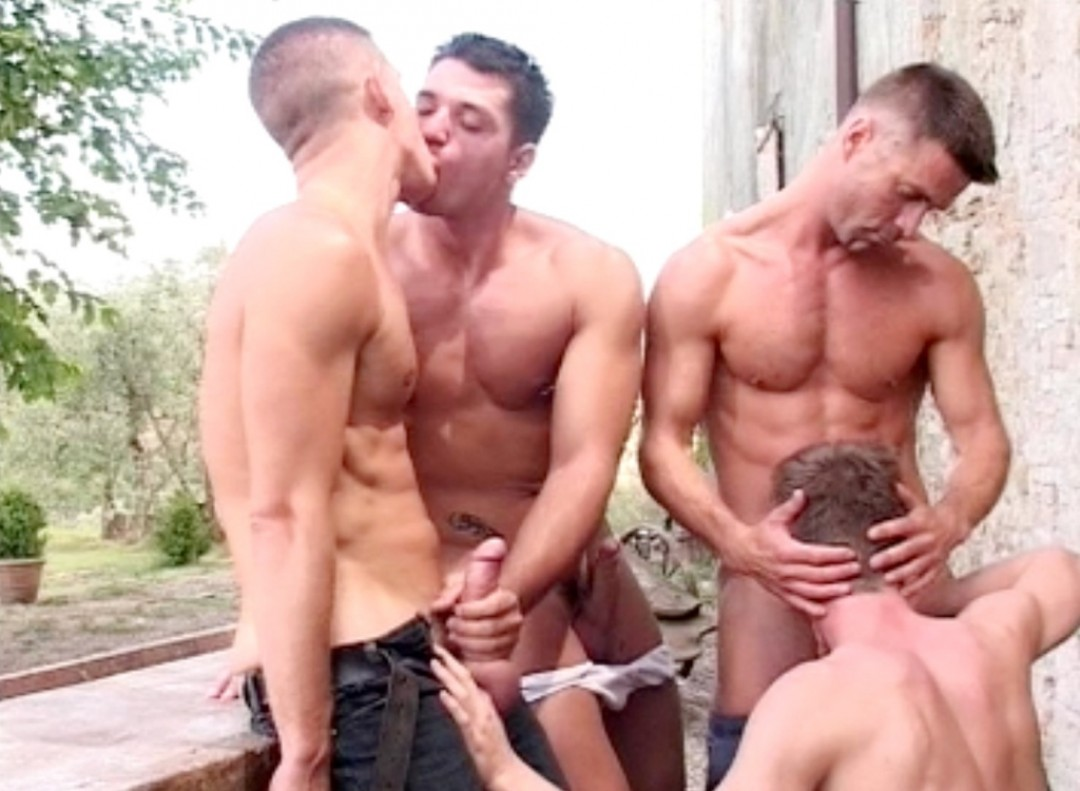 Three Studs and a Slut Boy