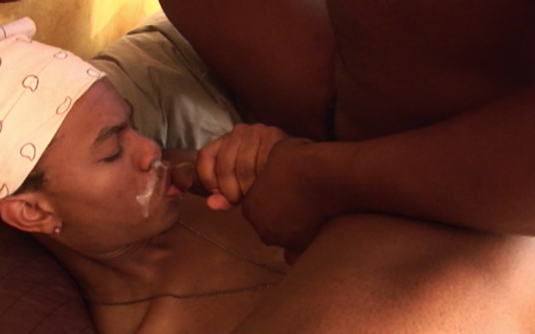 Little boy wants big black dick