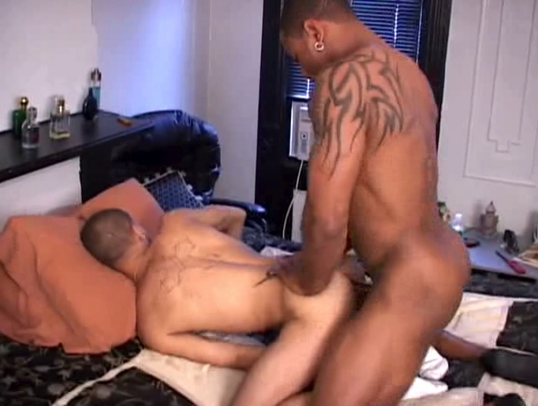 A boy's first black cock