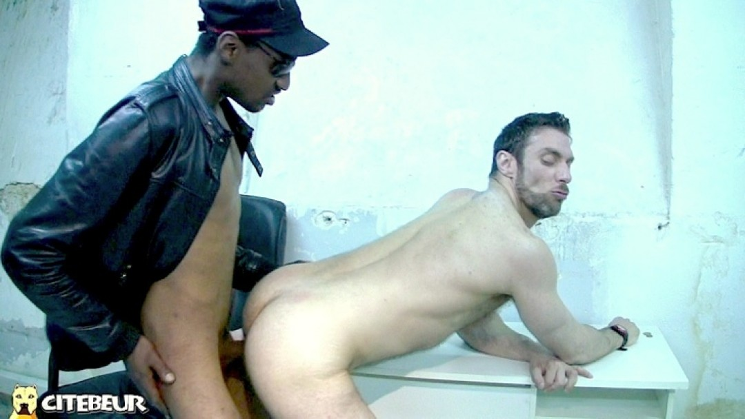 Deep mouth and ass drilling