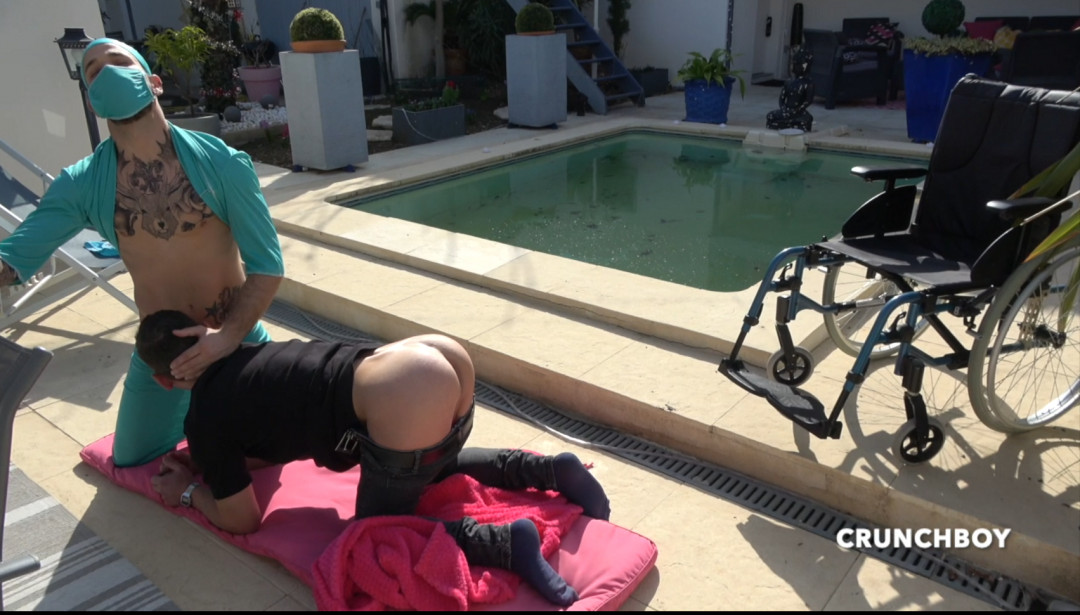 Kevin DAVID dosing a young, hot, wheelchair-bound handy-capable guy