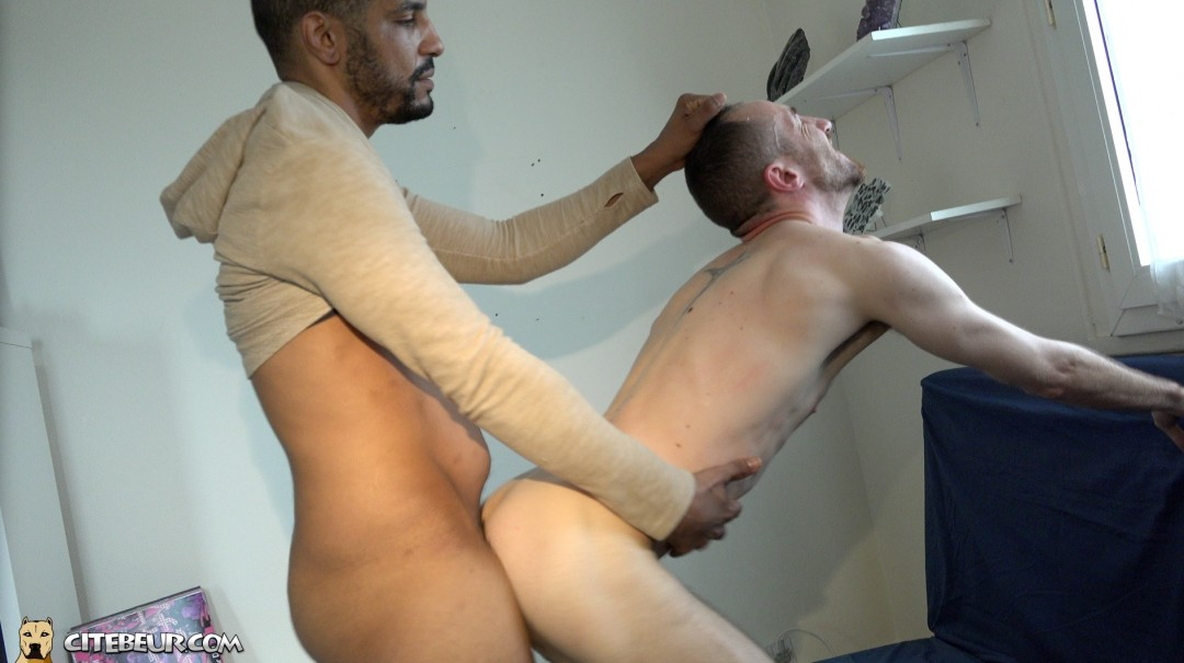 He realy wants that big arab cock