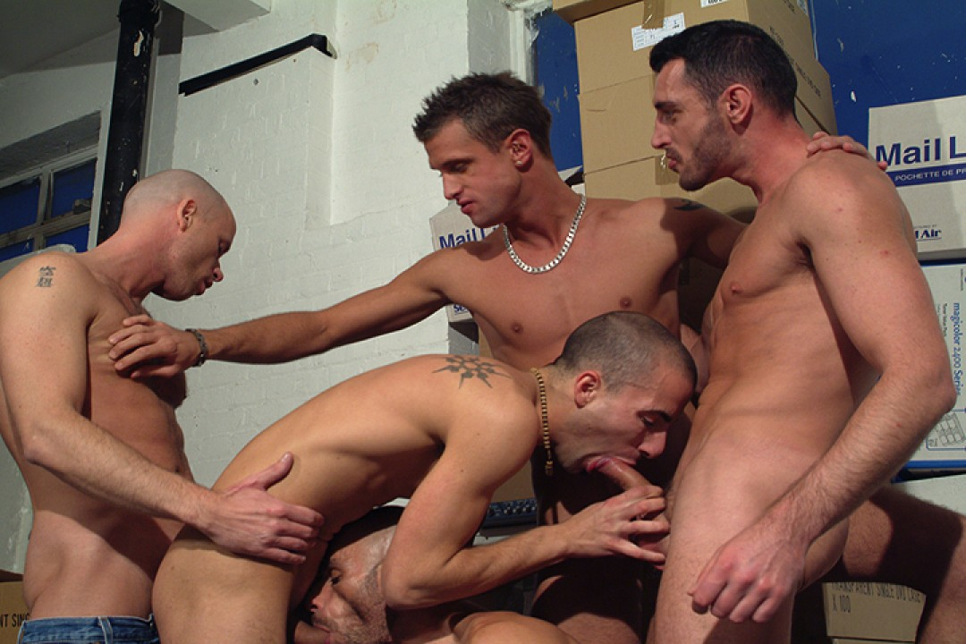 Orgy at the office