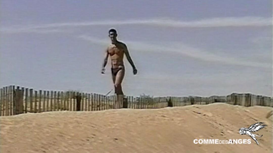 Bon cul gay dans les dunes