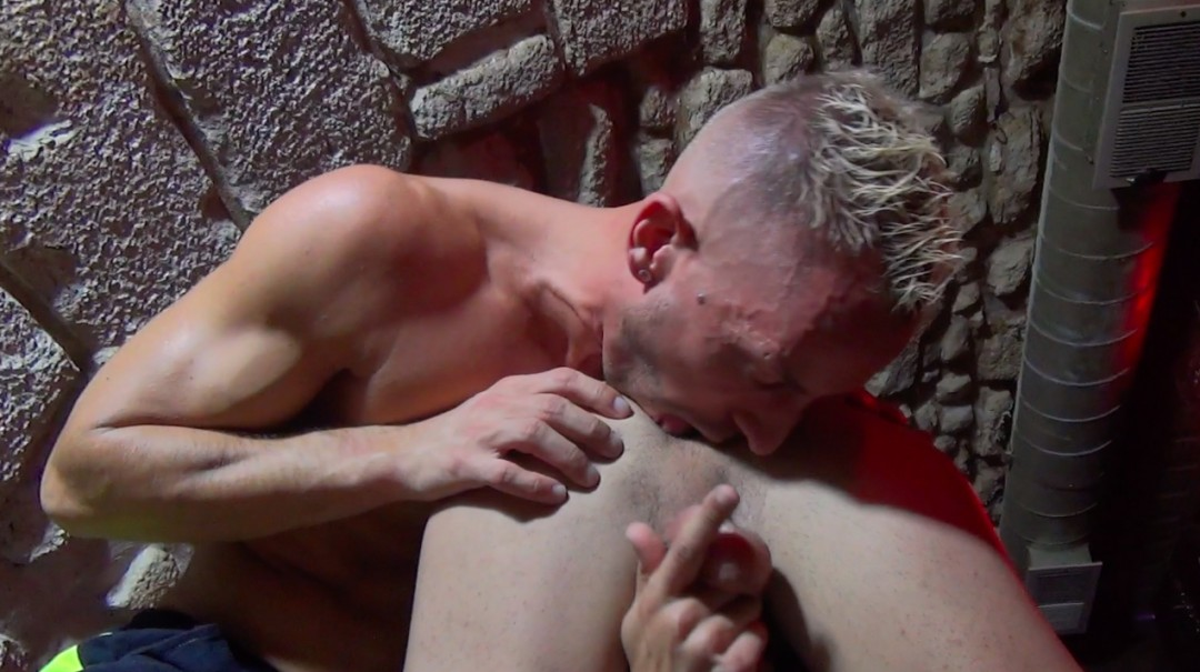 Two guys fuck like beasts on stage - Games of Love - Scene 4