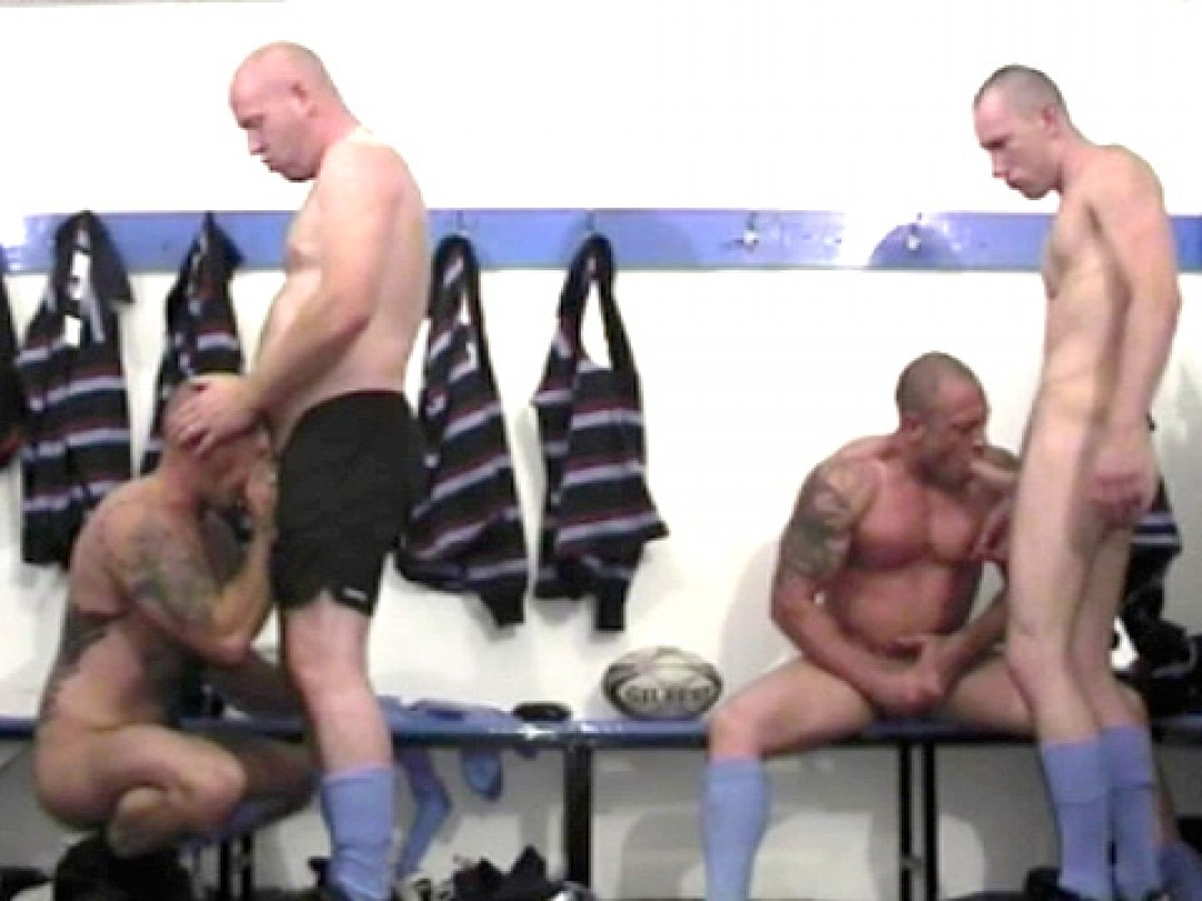 RUGBY PLAYERS ORGY