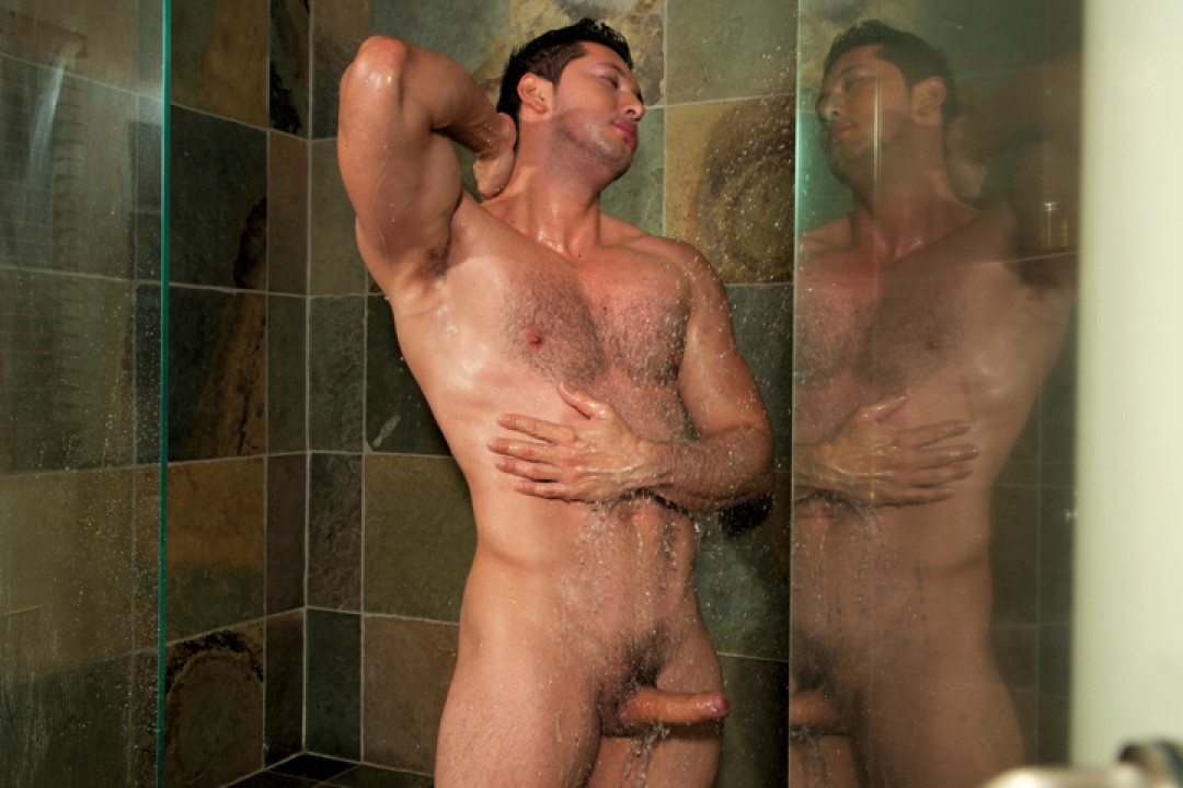 Giving head in the shower