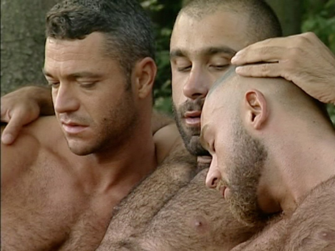 HAIRY BOYS IN THE WOODS