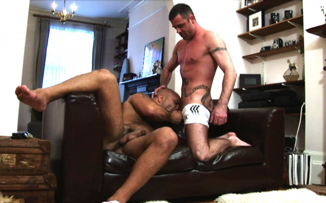 Muscles and fat dick for your ass