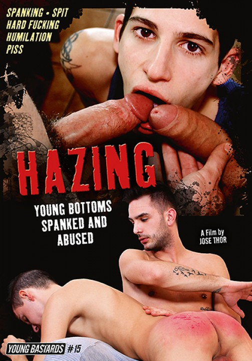 Hazing - Young bottoms spanked and abused