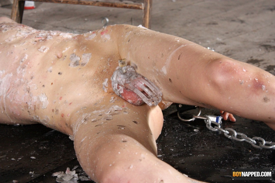 Moans Of Agony For Calvin Croft!